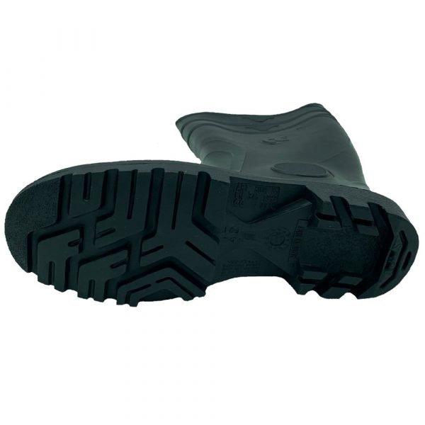 stivali punta rinforzata neri suola