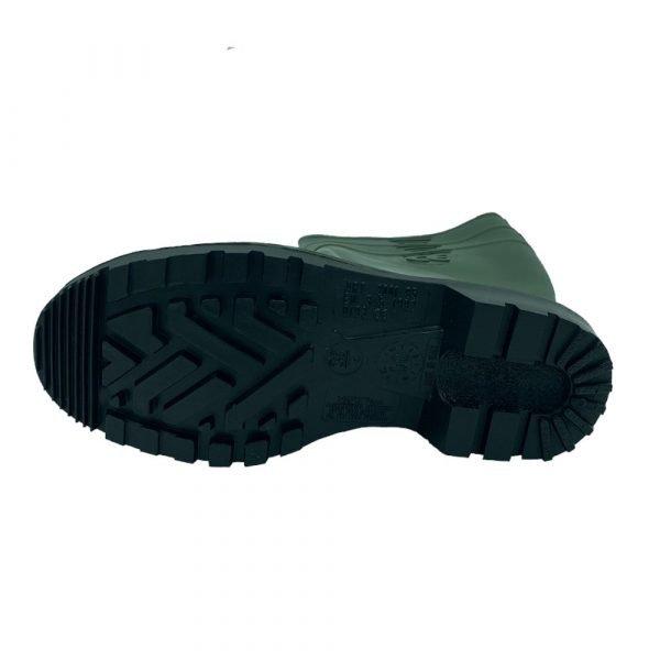 stivali punta rinforzata verdi suola